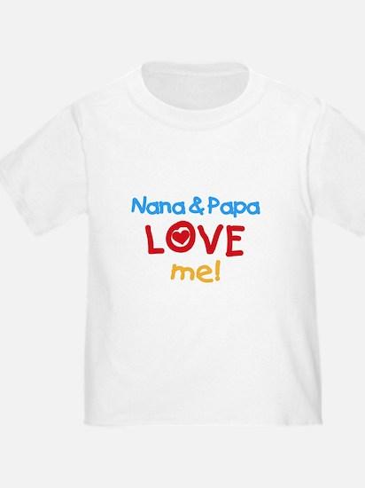 Nana & Papa Love Me T