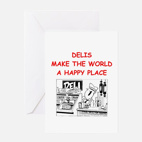 deli gifts Greeting Card