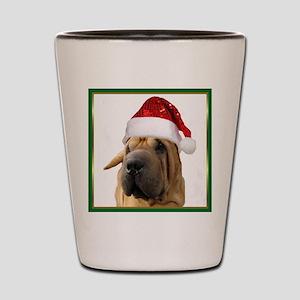 Shar Pei dog Shot Glass
