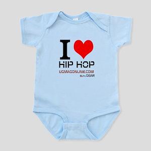 I LOVE HIP HOP BABY Infant Bodysuit