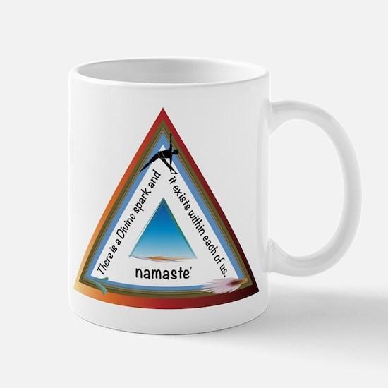 Namaste' Triangle- The Divine Mug