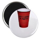Let's Have A Party! Magnet