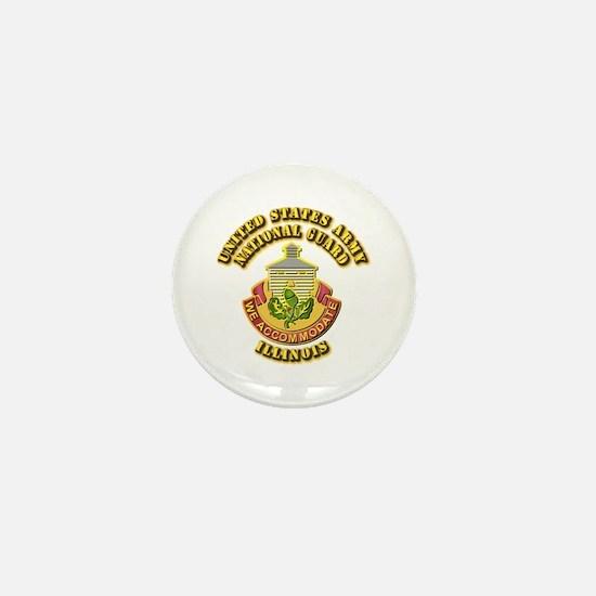Army National Guard - Illinois Mini Button