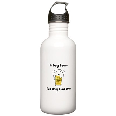 Dog Beers Stainless Water Bottle 1.0L