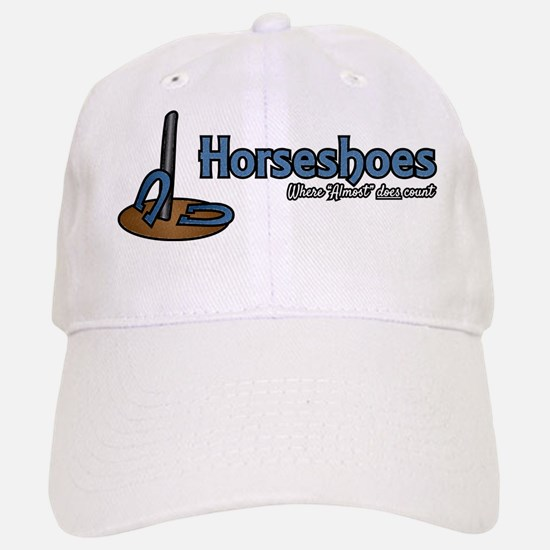 Horseshoes Baseball Baseball Cap