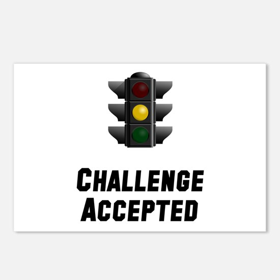 Challenge Accepted Light Postcards (Package of 8)