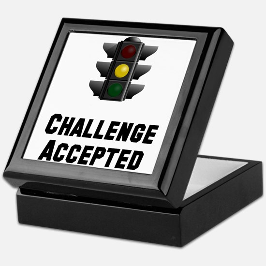 Challenge Accepted Light Keepsake Box