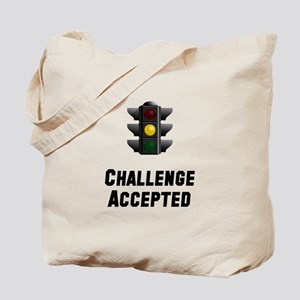 Challenge Accepted Light Tote Bag