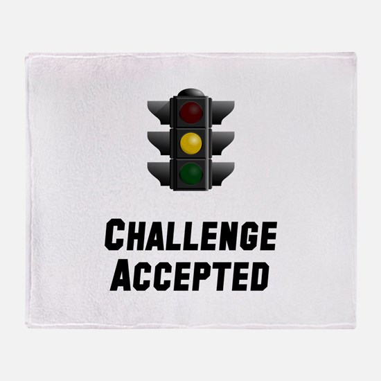 Challenge Accepted Light Throw Blanket