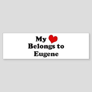 My Heart: Eugene Bumper Sticker