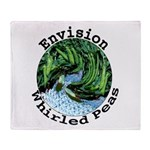 Envision Whirled Peas Throw Blanket