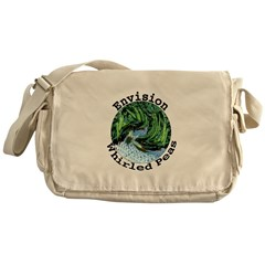 Envision Whirled Peas Messenger Bag