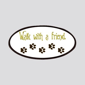 Walk With a Friend Patches