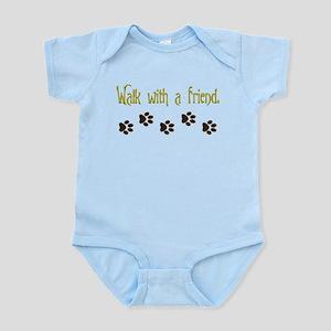 Walk With a Friend Infant Bodysuit