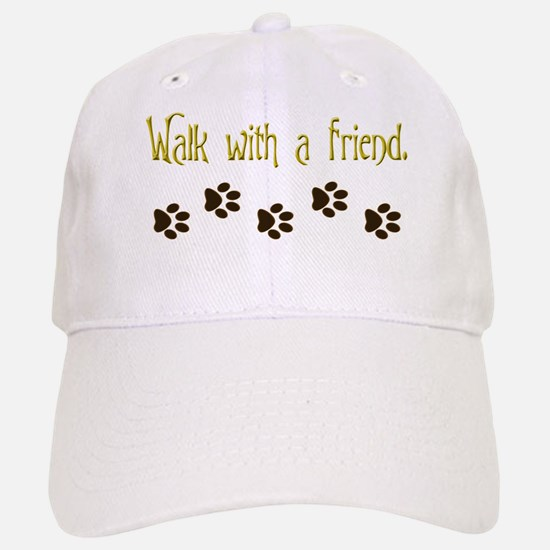 Walk With a Friend Baseball Baseball Cap
