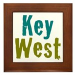 Key West Framed Tile