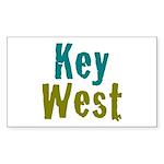 Key West Sticker (Rectangle 10 pk)