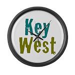 Key West Large Wall Clock