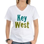 Key West Women's V-Neck T-Shirt