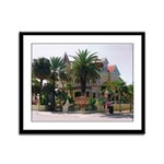 KW Southernmost House Framed Panel Print