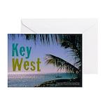 Key West Ocean Photo Greeting Cards (Pk of 10)