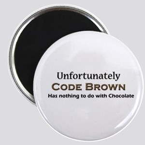 "Code Brown 2.25"" Magnet (10 pack)"