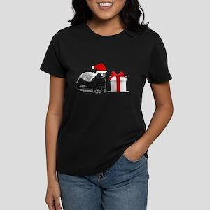 honey badget santa Women's Dark T-Shirt