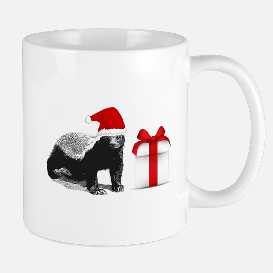 honey badget santa Mug