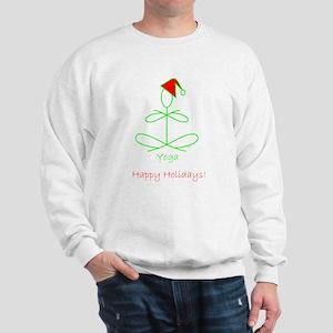 Yoga Glee Santa Sweatshirt