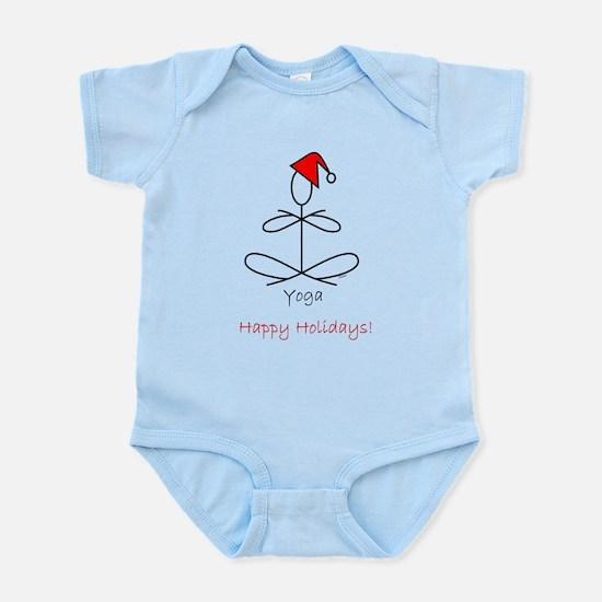 Yoga Glee Santa Infant Bodysuit