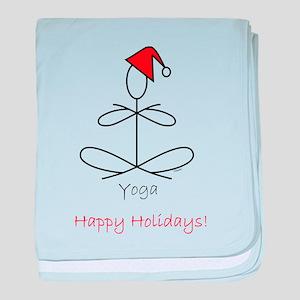 Yoga Glee Santa baby blanket