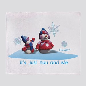 It's Just You and Me Throw Blanket