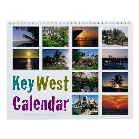 Key West Wall Calendar