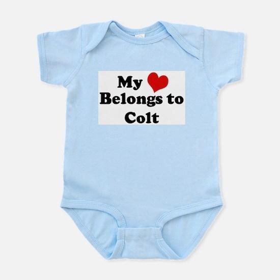 My Heart: Colt Infant Creeper