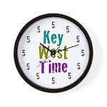 Key West Time Wall Clock