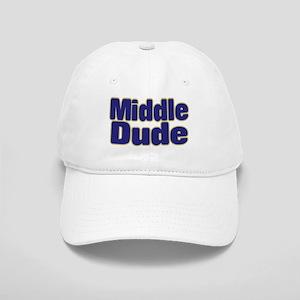 MIDDLE DUDE (dark blue) Cap