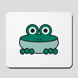 Viridian Frog Mousepad