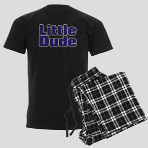 LITTLE DUDE (dark blue) Men's Dark Pajamas
