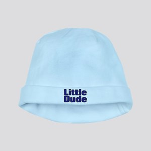 LITTLE DUDE (dark blue) baby hat