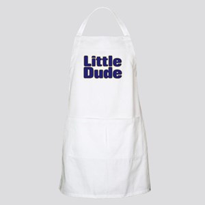 LITTLE DUDE (dark blue) Apron