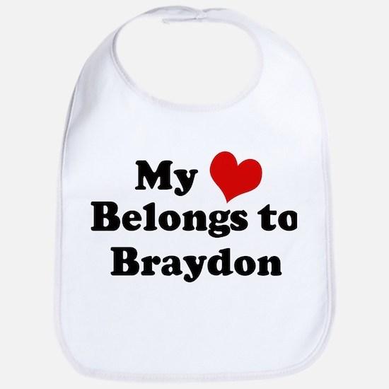 My Heart: Braydon Bib