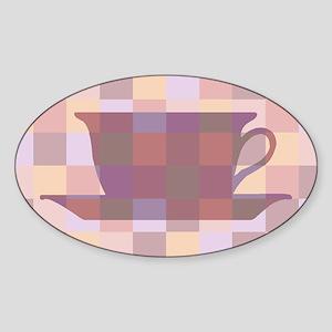 Coffee106 Oval Sticker