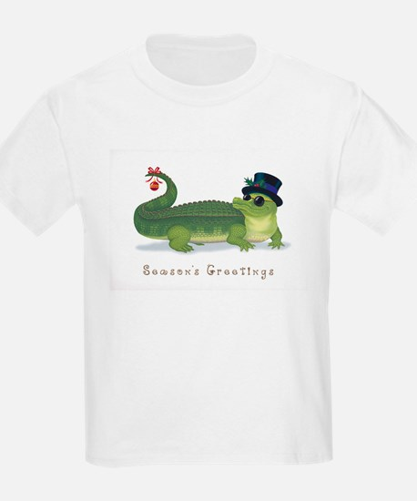 Christmas Alligator T-Shirt