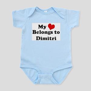 My Heart: Dimitri Infant Creeper