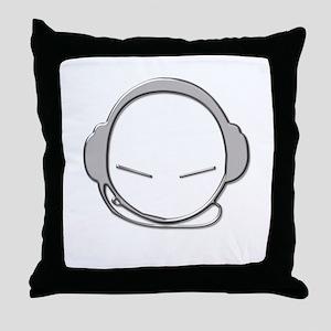 SuperStar Deejay Throw Pillow