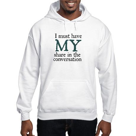 Jane Austen Conversation Hooded Sweatshirt