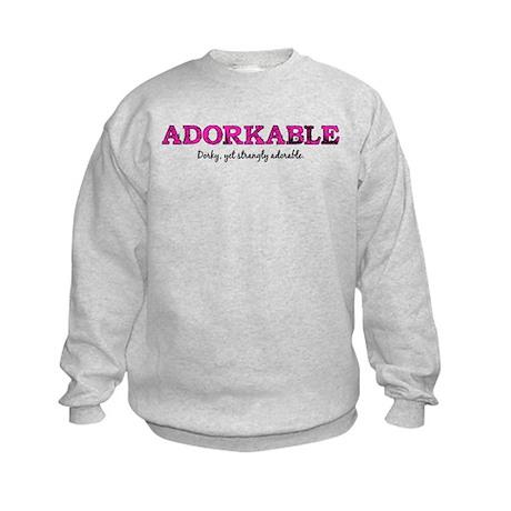 Adorkable Kids Sweatshirt