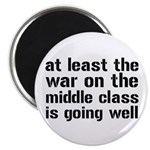 """War On The Middle Class 2.25"""" Magnet (10 pack"""
