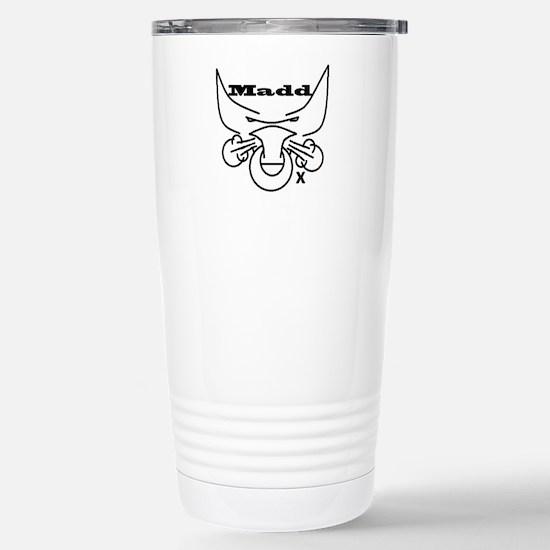 Madd Ox Logo Stainless Steel Travel Mug