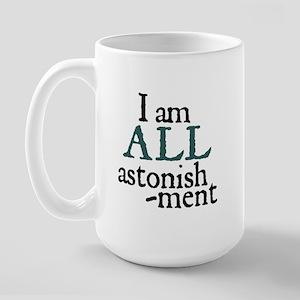 Astonishment Large Mug